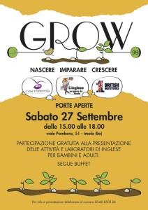 EVENTO GRATUITO GROW